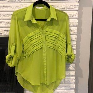 Lush green blouse